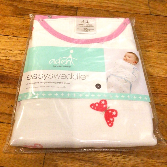 ADEN by Aden + Anais Easy Swaddle - Butterfly NEW